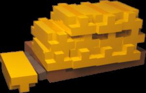 teardown gold pile