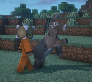 How to tame a donkey in Minecraft