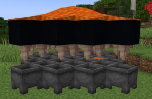 Infinite Lava Farm