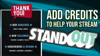 How to add credits